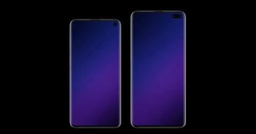 Galaxy S10 Plus lộ thiết kế thông qua mặt kính bảo vệ màn hình