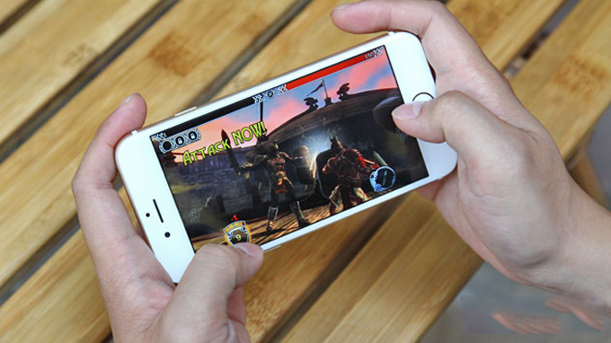 iPhone 6 có thể chơi hầu hết các tựa game hiện hành