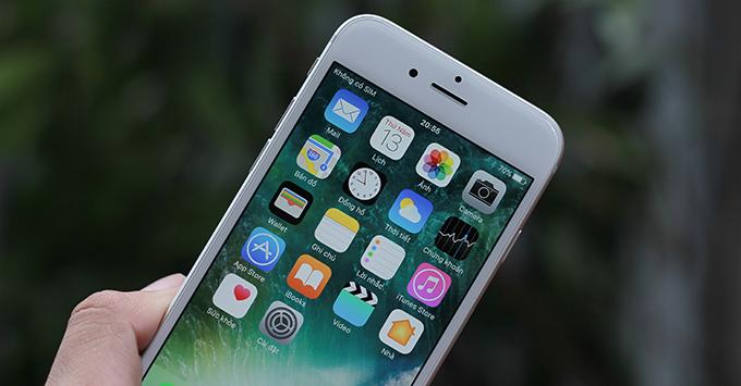 iPhone 6 được hỗ trợ phần mềm mới nhất