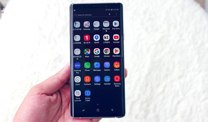 Snapdragon 845 trên Galaxy Note 9 128GB chính hãng là một trong những con chip mạnh nhất dòng Android 2018