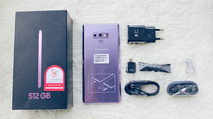 Dung lượng pin 4000 mAh cho phép Galaxy Note 9 128GB hoạt động trong thời gian dài