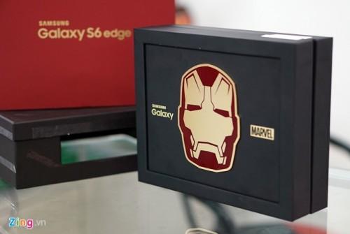 Galaxy S6 Edge bản Iron Man về Việt Nam giá 58 triệu đồng