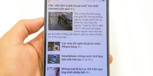 Điện thoại LG màn hình cong giá 20 triệu đồng