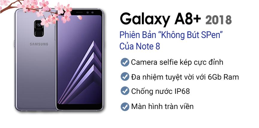 Samsung Galaxy A8 Plus (2018) Chính Hãng