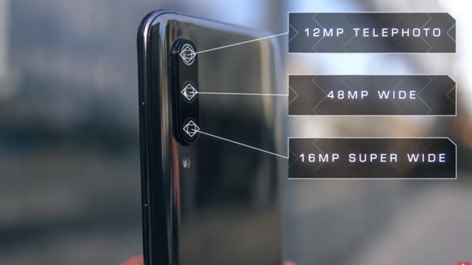 Xiaomi Mi 9 tích hợp 3 camera có độ phân giải lên đến 48 MP