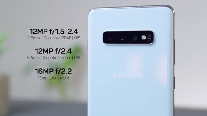 Camera Galaxy S10 Plus nâng cấp khả năng chụp đêm