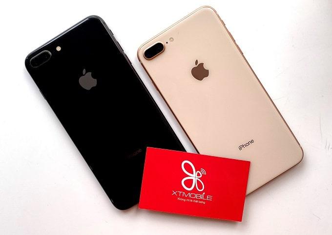 iPhone 8  Plus 64GB có thiết kế nguyên khối cao cấp