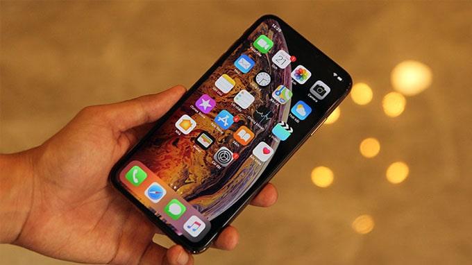 Độ nhạy khi thao tác trên iPhone Xs Max 64GB cũ là cực kì ấn tượng