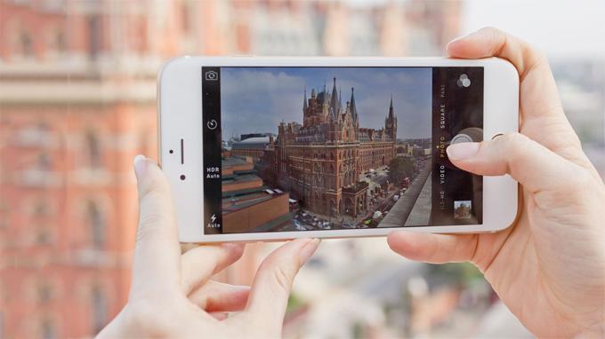 Camera iPhone 6 Plus 128GB cũ có độ phân giải 8 MP