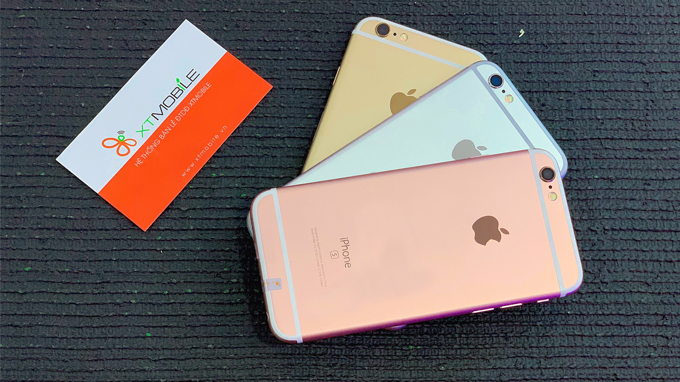 Ngoài những màu cơ bản xám, vàng đồng và bạc, iPhone 6s 64GB còn cho ra màu vàng Rose hứa hẹn sẽ trở thành cơn sốt trong năm nay