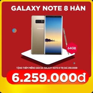 Samsung Galaxy Note 8 (6GB 64GB) Hàn Quốc (Like new)