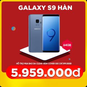 Samsung Galaxy S9 (4GB 64GB) Hàn Quốc (Like new)