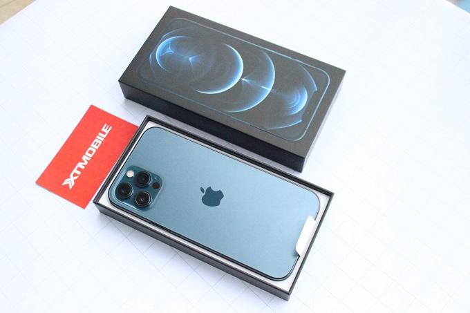 Thiết kế iPhone 12 Pro Max 128GB VN/A khá sang trọng và sắc nét