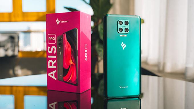 Cấu hình Vsmart Aris Pro được cung cấp sức mạnh từ chip Snapdragon 730