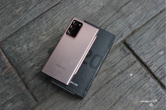 Galaxy Note 20 Ultra 5G 256GB mang theo kết nối 5G và hàng loạt những tính năng mới mẻ mà Samsung trang bị cho dòng Galaxy Note 20
