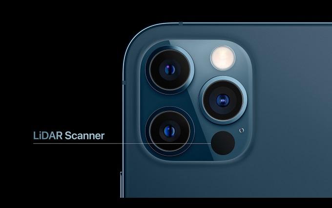 Cụm camera nâng cấp lớn với máy quét LiDAR