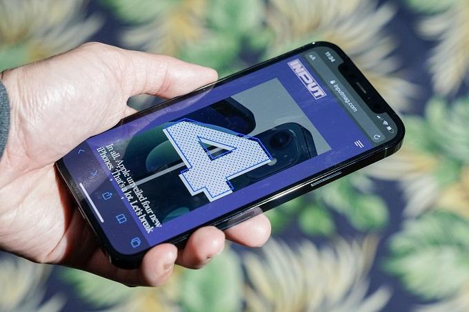 Thiết kế iPhone 12 Pro 128GB được trang bị màn hình chất lượng