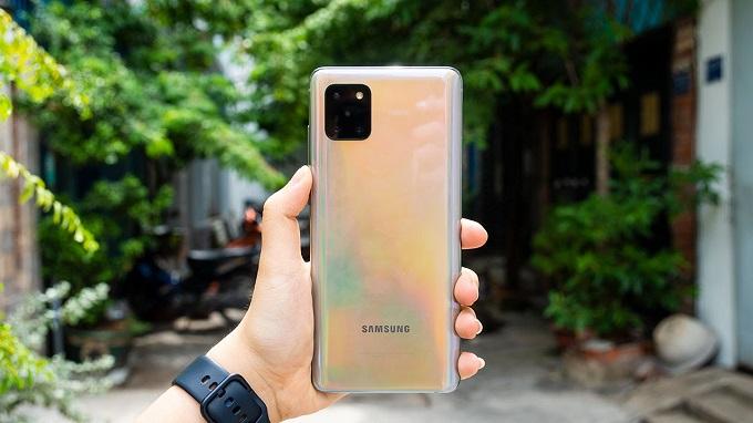 Galaxy Note 10 Lite 128GB được trang bị viên pin khá lớn
