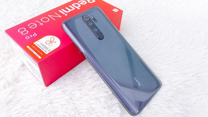 Thiết kế Redmi Note 8 Pro khá chắc chắn