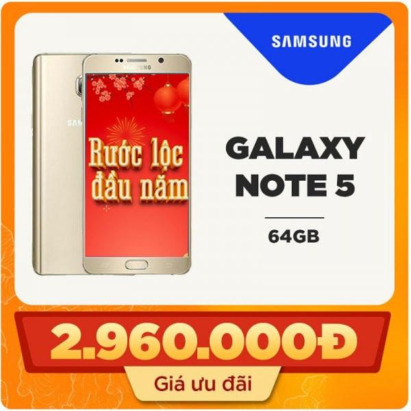 Samsung Galaxy Note 5 64GB Bản Hàn Quốc (Likenew)