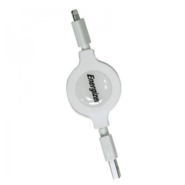 Cáp rút Energizer HT USB Lightning 80 cm - C31UBLIREWH4