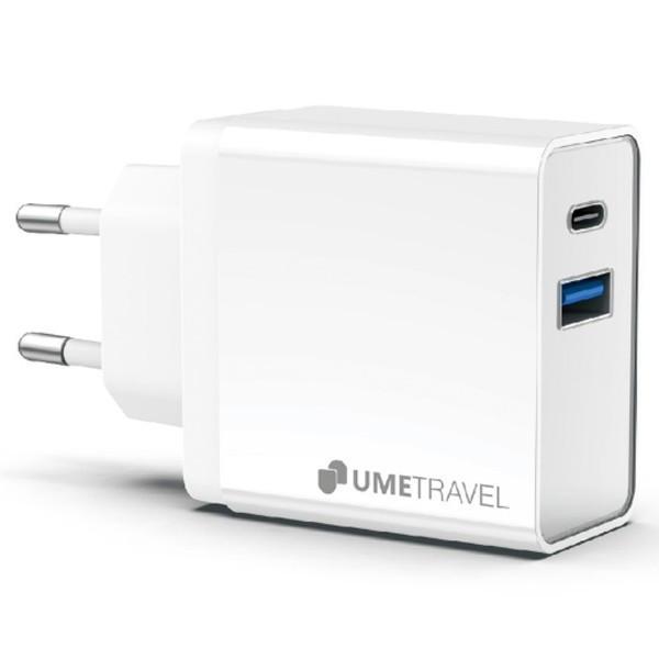 Củ sạc Dual USB 18W - PD 18W Umetravel A4