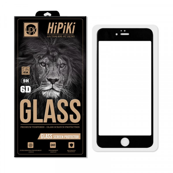 Cường lực Full Hipiki 6D cho iPhone 7 Plus/ 8 Plus