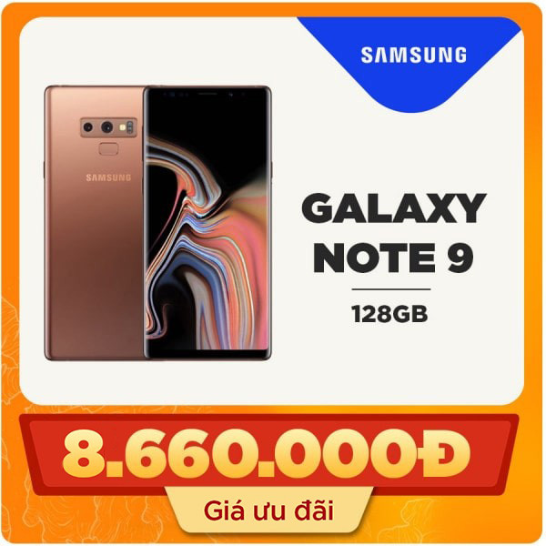 Samsung Galaxy Note 9 (6GB|128GB) Hàn Quốc (Like new)