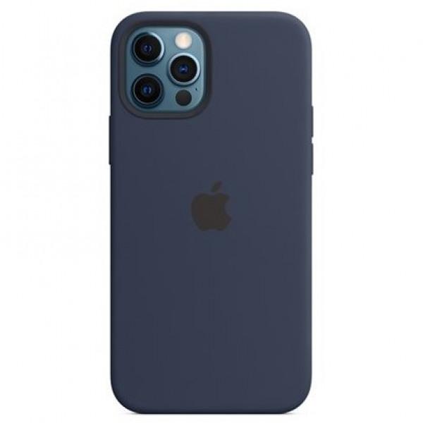 Ốp lưng Da PU Case Buff Dark Blue iPhone 12/12 Pro