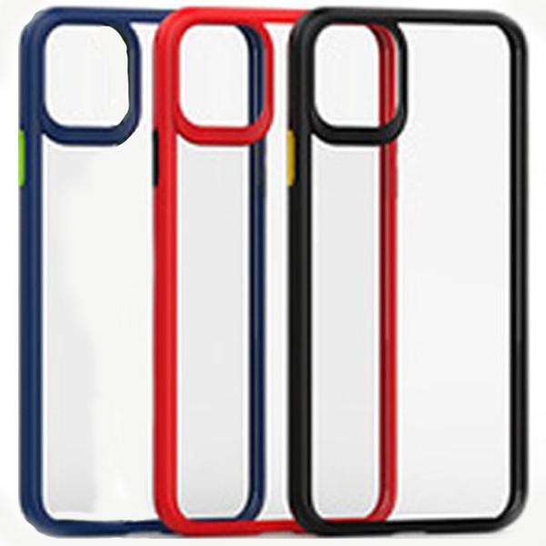Ốp lưng Likgus nhám viền màu iPhone 11 Pro Max