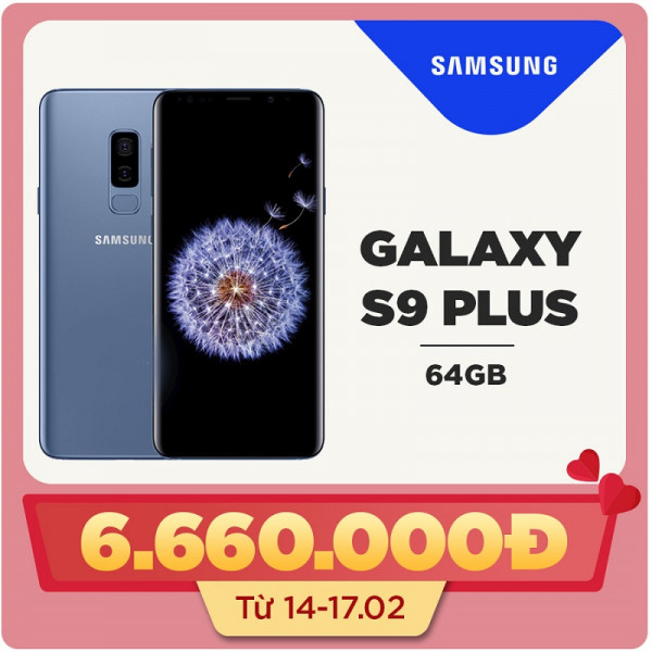 Samsung Galaxy S9 Plus (6GB|64GB) Hàn Quốc (Like new)