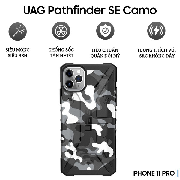 Ốp lưng UAG Pathfinder SE Camo iPhone 11 Pro