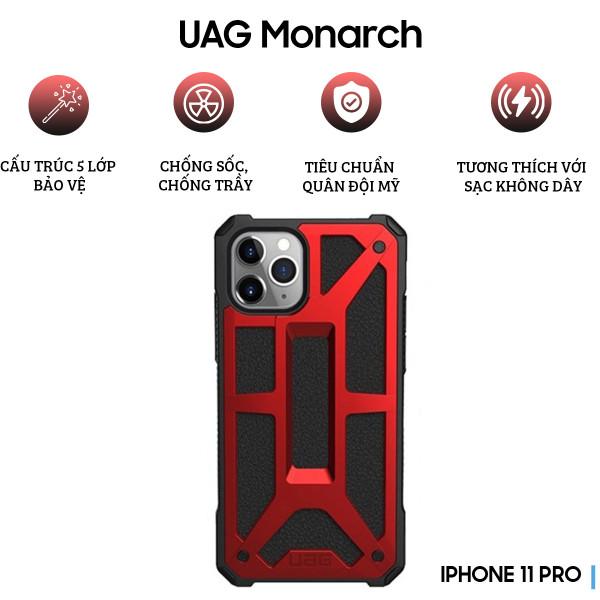 Ốp lưng UAG Monarch Series iPhone 11 Pro