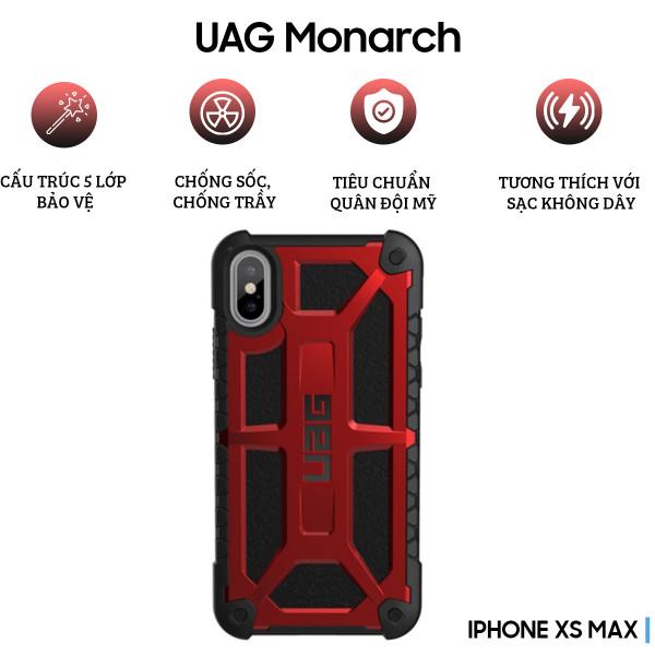 Ốp lưng UAG Monarch Series cho iPhone XS Max