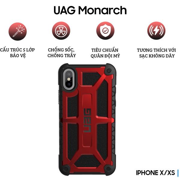 Ốp lưng UAG Monarch Series cho iPhone X/XS