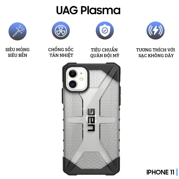 Ốp lưng UAG Plasma Series iPhone 11