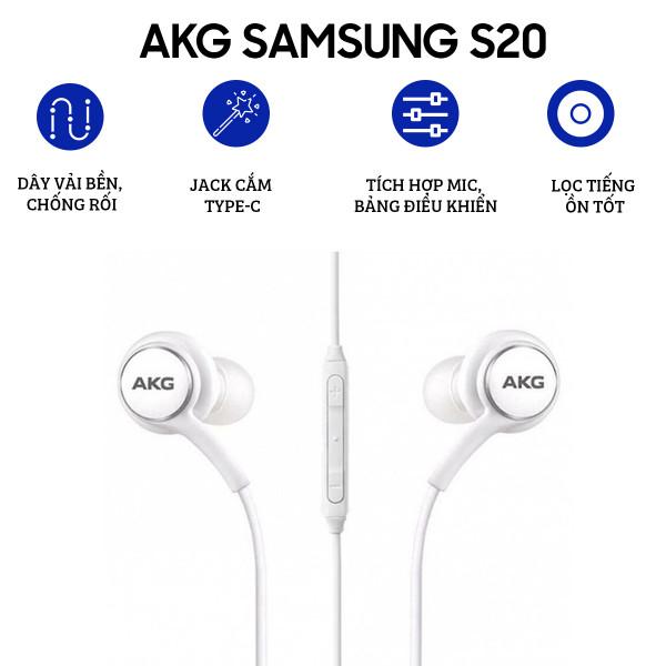 Tai nghe AKG Samsung Galaxy S20   S20 Plus   S20 Ultra