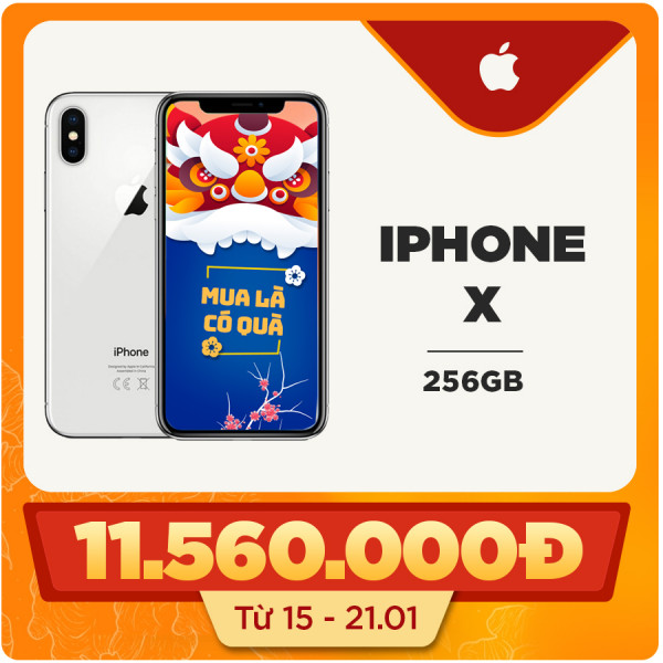 iPhone X 256GB (Like new)
