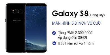 Samsung Galaxy S8 Chính Hãng (cty)