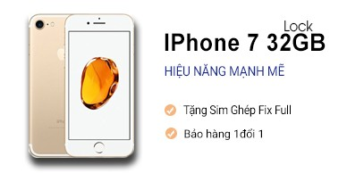 IPhone 7 32Gb Lock Nhật 99%