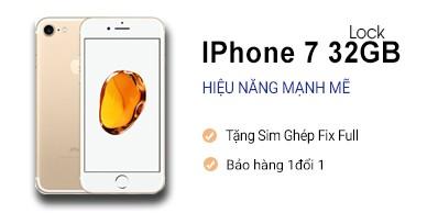 IPhone 7 32Gb Lock Nhật 99%