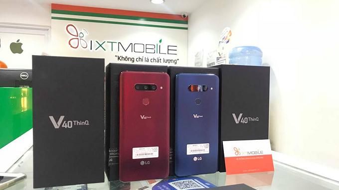 LG V40 ThinQ điện thoại 5 camera đầu tiên