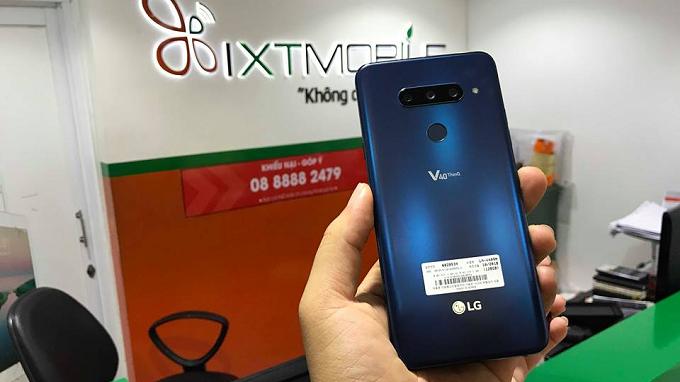 LG V40 ThinQ nâng cấp camera vượt trội