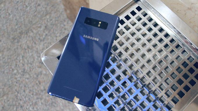 Galaxy Note 8 64GB Hàn Quốc sử dụng camera kép 12MP cho tốc độ chụp ảnh nhanh nhất