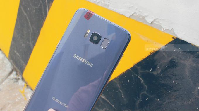 Galaxy S8 Plus sở hữu camera chính 12MP với công nghệ lấy nét theo pha Dual Pixel
