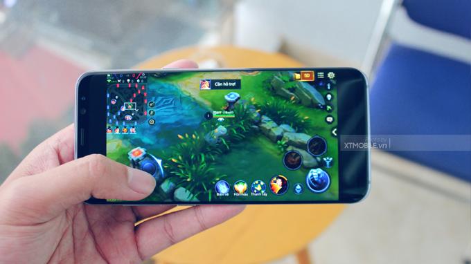 Hiệu năng khá mạnh mẽ trên Galaxy S8 Plus cũ xách tay Hàn Quốc vẫn đủ sức chiến các tựa game nặng trong vài năm nữa