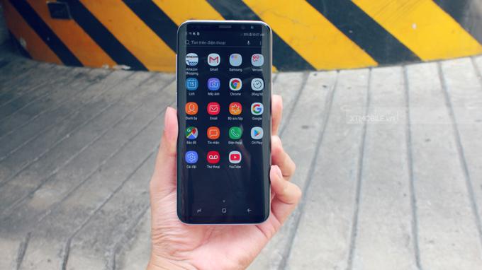Cùng với hệ điều hành Android 7.0 Galaxy S8 cũ xách tay Mỹ mang lại trải nghiệm vô cùng mượt mà