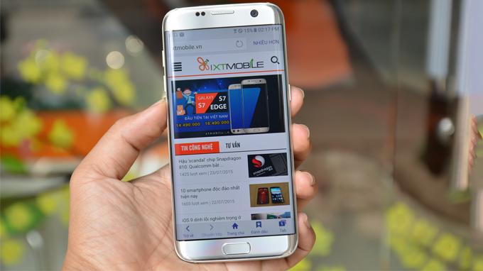 Thời lượng pin Samsung S7 Edge Nhật cũ
