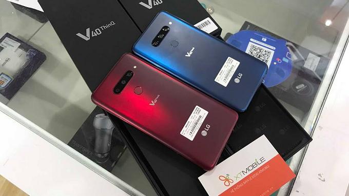 Thiết kế LG V40 ThinQ sang trọng, bền bỉ