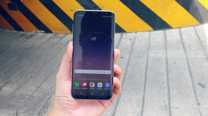Galaxy S8 Mỹ có thiết kế gần như không viền và cong hoàn hảo